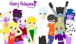 WoW Halloween Group by zafara1222