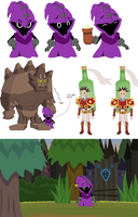 Concepts for Pilot Machinima League of Legends by Sprybug