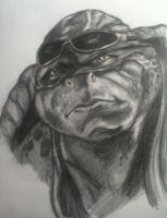 Teenage Mutant Ninja Turtles Raphael by D1sloyalSubj3ct