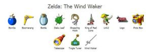 Zelda The Wind Waker Icons by axistek