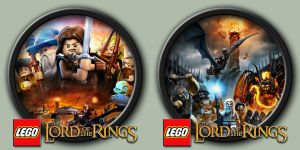 LEGO Lord Of The Rings Icons by kodiak-caine