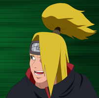 Deidara: I'll Take You On by SractheNinja