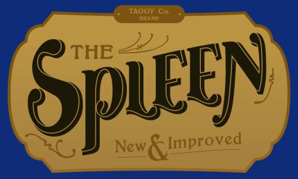 'The Spleen' label design by Pencil-Dragonslayer