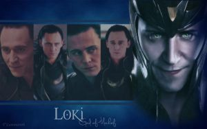 Loki Wallpaper by T-Luminareth