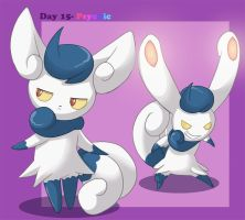 Day 15- Meowstic by Animatics