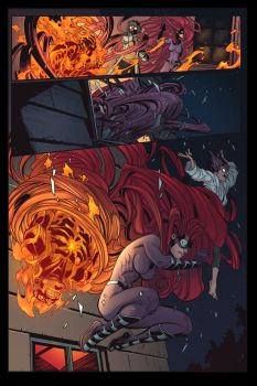 INHUMAN BOOK 1 PAGE 19 COLOR by Zimprich