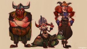 We 3 Vikings by rollingstarr