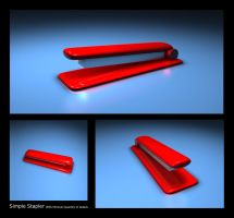 "My first 3D work "" Stapler "" by Viboo"