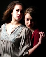 Jenah and Rachel by Speacial-J-Cerial