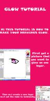 GLOW TUTORIAL by Mayuthedemon