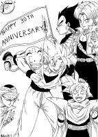 Dragonball 30th Anniversary by Rohanite