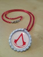 Assassin's Creed Necklace by Monostache