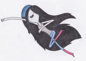 Marceline Flying by sophiemai