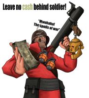 leave no cash behind! by TeXmaN61