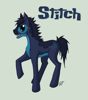 My Little Stitch Pony by issabissabel