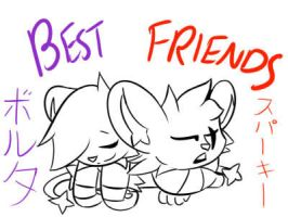 Best Friends by icygumball3000