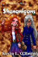 eBook Cover: Shenanigans by TeamGirl-Differel