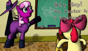 Holy Hay! The Teacher is a Superhero! by Darkone10