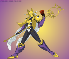 2005 Digimon: Sakuyamon by EmeraldSora