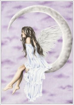 Moon Angel by Zindy