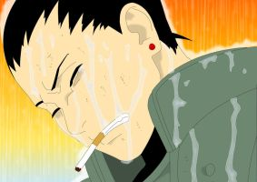 Shika_The smoke stings my eyes by MimiSempai