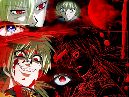 Seras Victoria Wallpaper by PsyBear
