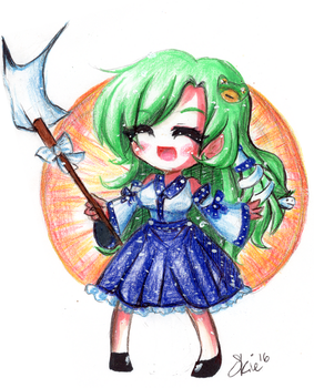 Miracle Sanae by Atelierelis
