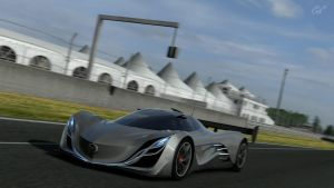 Gran Turismo 5: Mazda Furai by Legion-Of-3