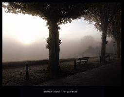 Smoking morning by Leconte