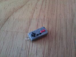 NES Controller charm by FallenAngelKrisi