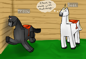 Mr. Eow and Boaz by Jililifish