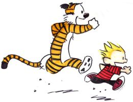 Calvin and Hobbes by savvy-weasley