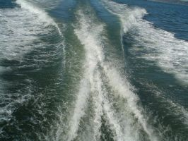 stock - Boat Wake by CaliforniaClipper