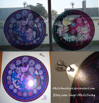 MLP Stained Glass Suncatchers by Akili-Amethyst