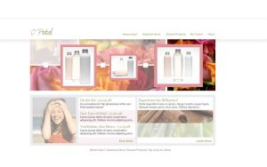 Beauty Supply Website by Hebbylaya