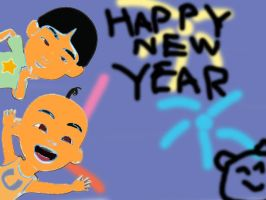Happy New Year To 2013 by irfandy-simpson
