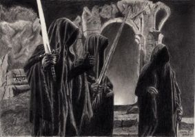 The Nazgul by loonyleo