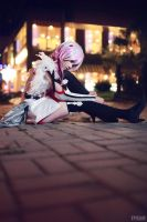Guilty Crown - Inori Yuzuriha by ikabii