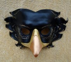 Black Griffin Mask by merimask