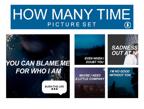 How Many Time | Picture Set by Burn-the-life