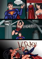JUSTICE LEAGUE: battle of the watchtower page 5 by ArtbyMiel
