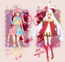 New!Arcana Adopts{paypal auction} by Hacuubii