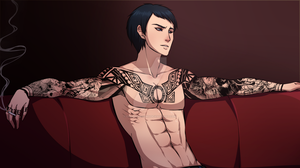 Ilian's Tattoos by CrimsonSnows