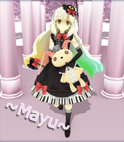 MMD ~MAYU~ Yandere? Who? by Kittyskie