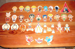 .: Complete SS Papercut Set :. by PepperMoonFlakes