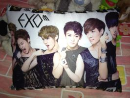 Exo-m Pillow by KpopGurl