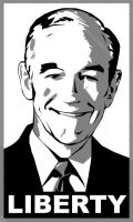 Ron Paul Paster by CameronCN