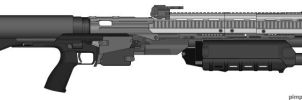 M45 Tactical Shotgun by Silent-Valiance