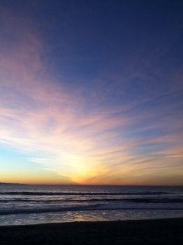 Oxnard Shores by Sunset-D