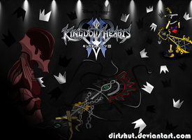 KINGDOM HEARTS 3 done! :p by dirtshut